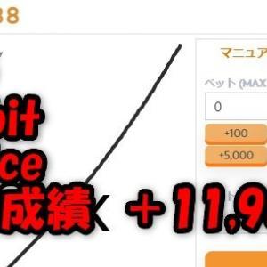 6/25 バカラ・バスタビット・999Dice 自動ツール 成績 +11,987円