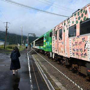 JR北海道わがまちご当地入場券の旅FINAL 18 風っこそうや4号、音威子府を出発!