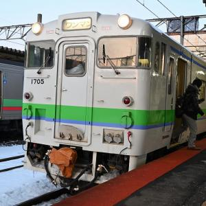 JR北海道「北の40記念入場券」の旅 その5 苫小牧からすずらん8号で東室蘭へ