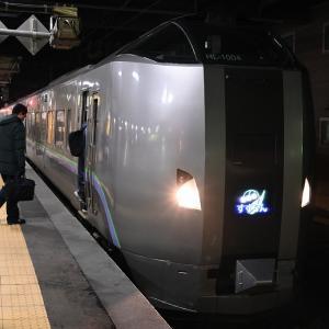 JR北海道「北の40記念入場券」の旅 その6 東室蘭からスーパー北斗20号で函館へ