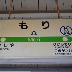 JR北海道「北の40記念入場券」の旅 その12 キハ40系単行で森から長万部へ