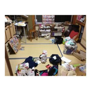 ADHDの汚部屋、こんな感じでした