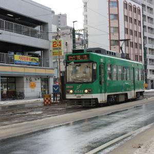 路面電車に揺られて~札幌市電編!各駅停車で行く北海道⑨