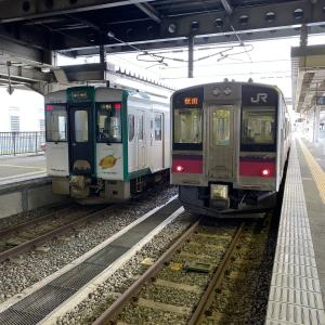 普通列車でのんびり奥羽本線の旅!いざ秋田へ③