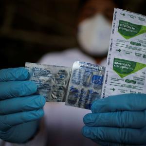 COVID試験でWHOがHIV治療薬であるヒドロキシクロロキンを停止