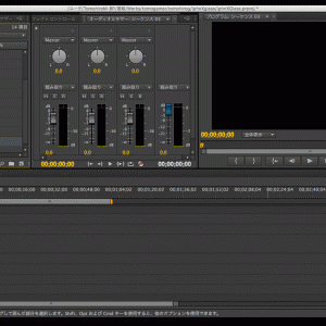 【Adobe Premiere Pro】書き出し後データに変なノイズが出た時の対処法。