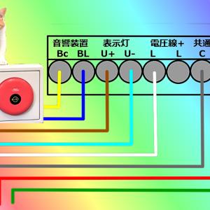 自動火災報知設備の配線工事方法~総合盤編~