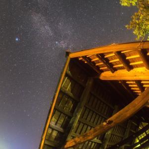 【星景】福井三方五湖で夏~秋の天の川