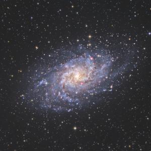【銀河】M33 さんかく座銀河
