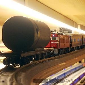 Nゲージ動画 DCC BEMFの強化と効果/485系と荷物列車