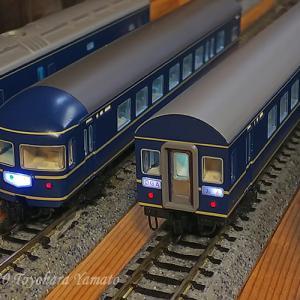 Nゲージ×実車 KATO 20系弄りⅡ~屋根の色は・・?