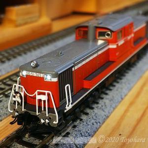 KATO DD51 745 弄り再び..[鉄道模型&実写]