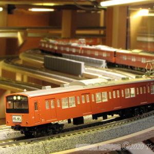 KATO 201系弄り(2) [鉄道模型]