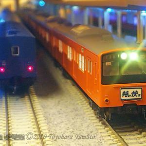 [模型+動画]EF58 急荷32レ/201系 中央線 特別快速