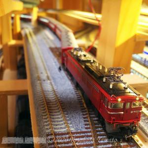 KATO 複線片渡ポイント トング先端切断テスト [鉄道模型]