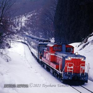 冬の磐西~DD51 745見納めの日