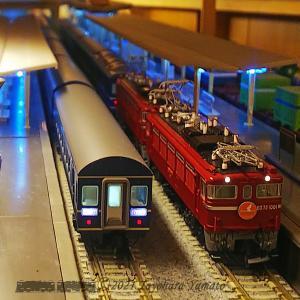 Nゲージ動画Vol.58 前面展望 7列車同時運転 [鉄道模型]