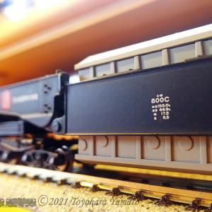 Micro Ace シキ800C 安定走行の工夫 [鉄道模型]
