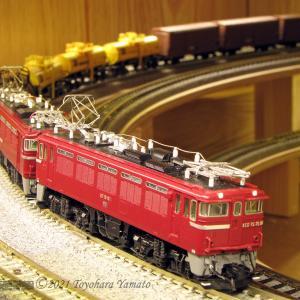ED75 異メーカー重連運転 [鉄道模型]
