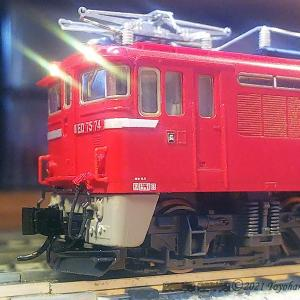 ED75 74 TOMIXのKATOドライブ化 [鉄道模型]