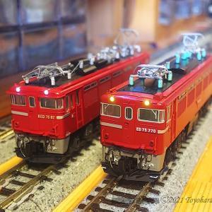 ED75 82 KATO化と、余ったED79ボディー活用[鉄道模型]