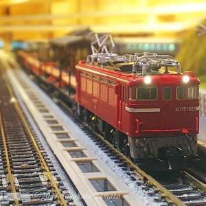 ED75チキ工臨とDCCポイント不転換 [鉄道模型]