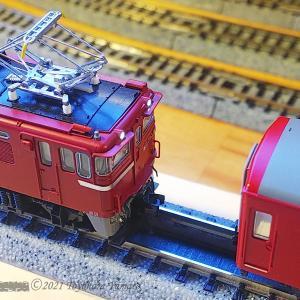 機関車交換を目指し磁石を動かす試作品 [鉄道模型]