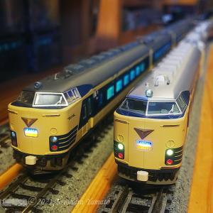 KATO 583系 新旧交代準備 [鉄道模型]