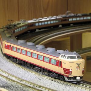 485系Tc200番台編成 一部KATO化 [鉄道模型]