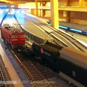 複線片渡りポイント増設とその意味 [鉄道模型]