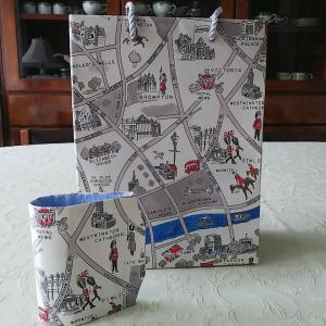 お揃い -ロンドン地図ー