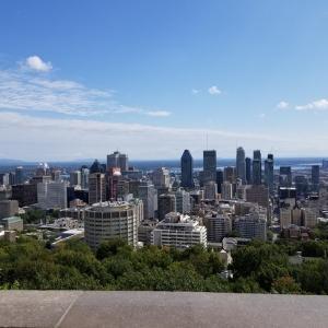 モントリオールのお天気