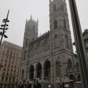 雨の日のモントリオール観光