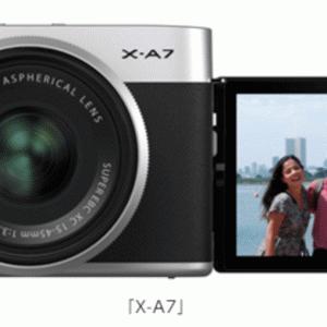フジフイルム初のバリアングル搭載カメラ「X-A7」を徹底分析!ソニーα6400とスペック比較