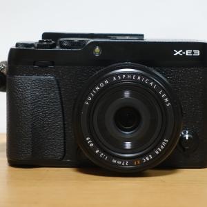 富士フイルムX-E3はコスパ抜群のスナップカメラ!写り良し・携帯性良し・スタイル良しでも格安の機種だ