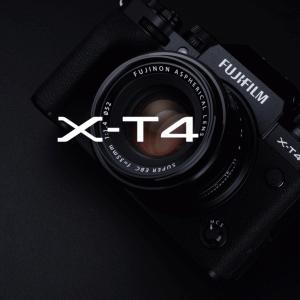 富士フイルムがX-T4ブラックを4月28日に発売!新型コロナの影響?シルバーは5月下旬に延期