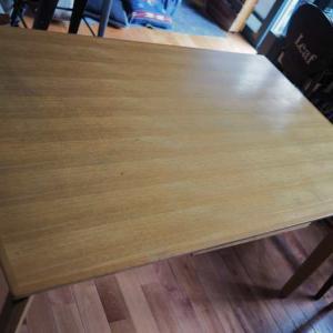 【BEFORE】市販のテーブル天板をサンダー掛け・・・どのくらいの時間がかかる??