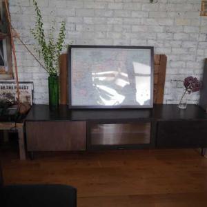 【~AFTER】似合わせDIY♪北欧風シンプルなテレビボードにリメイク