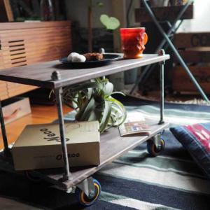 TANNERカラフルキャスターNeooが主役のワゴンを作ってみました♪