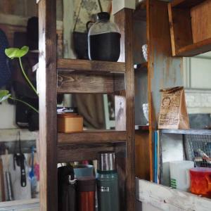 キッチンのちょっとした棚に・・・ディアウォールを初めて使ってみました(≧∇≦)