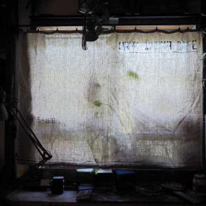 装飾~完成☆リネンのカフェカーテンをできるだけ安く 自分好みに作ってみよう~~♪