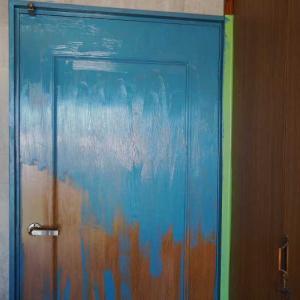 最終仕上げ作業 ドアや壁のペイント☆甥っ子のお部屋を男の隠れ家風趣味部屋にリノベーション