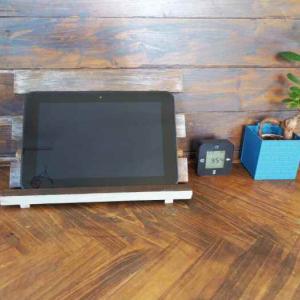 【フェリシモ女子DIY部ブログ】「100均すのこでタブレットスタンドを作ろう」が公開になりました