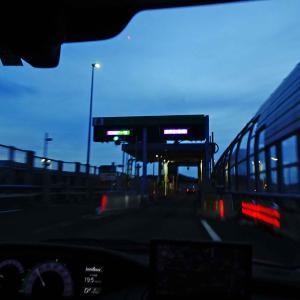 仕事を終えて境港へ300km超移動!