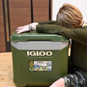 IGLOO(イグルー) のクーラーボックス「スポーツマン60ローラー」は大容量でキャンプにおすすめ!