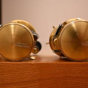 【シマノ】オシアコンクエスト200PGをタイラバ用として購入!300HGは青物・タチウオ(ライトジギング)用で使い分け!