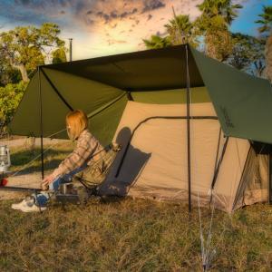 ソロキャンプのテントならDODヌノイチ(S)がおすすめ!インナーにワラビーテントがセット可能!