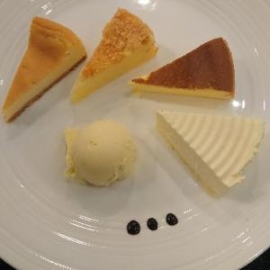 大阪 チーズケーキ食べ比べ