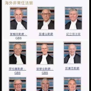 【画像】周庭ちゃんを裁く香港の裁判官の方々がこちら・・・