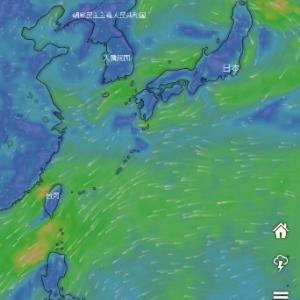また台風が発生しそうです。。。